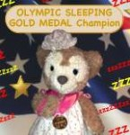 Duffy the Disney Bear girlfriend ShellieMay wins Olympic Gold Medal