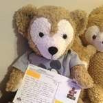 Duffy the Disney Bear Bear got a post card from Ohio!