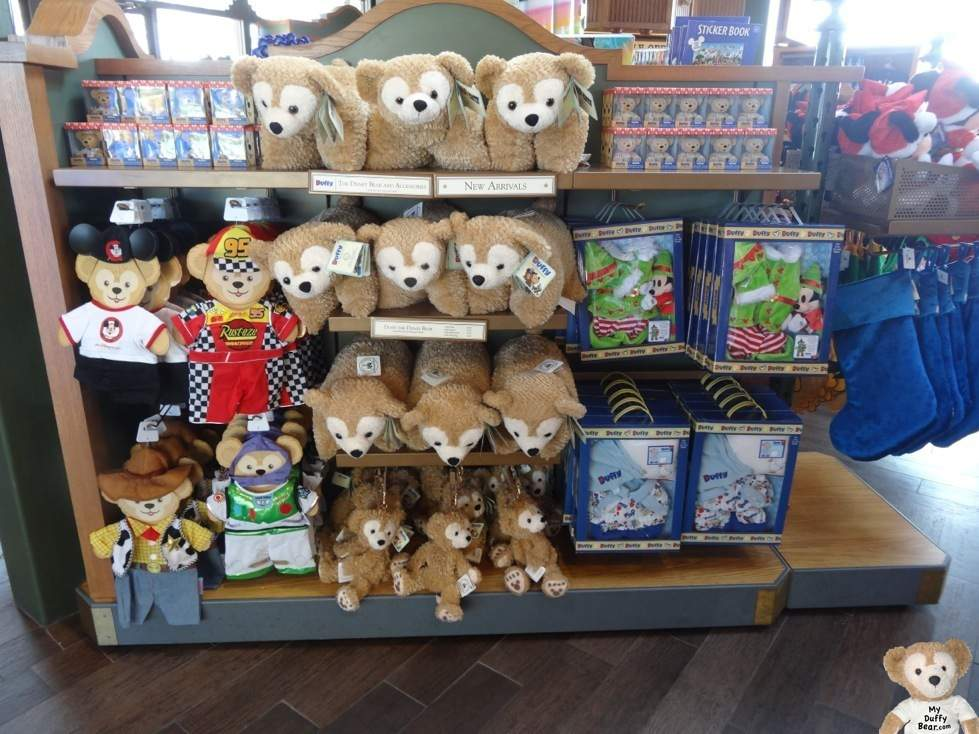 Duffy the Disney Bear Temporary Home Display Unit