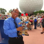 Walt Disney Legacy Award Winner with Duffy Disney Bear