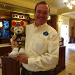 Duffy the Disney Bear with Legacy Award Winner Magic Kingdom's Emporium