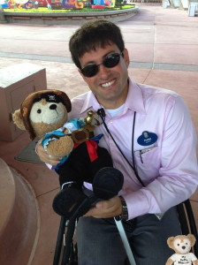 Duffy Disney Bear with Walt Disney Legacy Award Winner