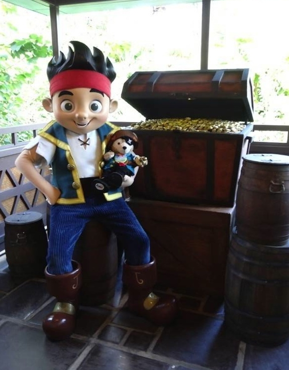 Duffy the Disney Bear and Jake the Pirate Limited Time Magic Pirate Week
