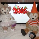 Duffy the Disney Bear and ShellieMay Celebrate New Years Eve 2014