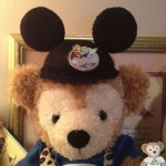 Duffy the Disney Bear wearing his Mickey Ears Hat