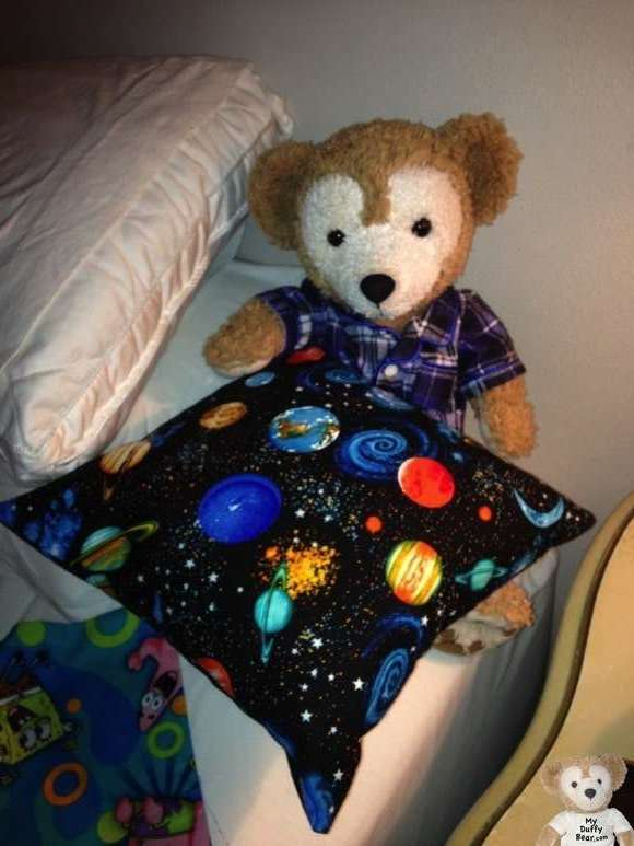Duffy the Disney Bear Pillow Cover