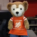 Duffy the Disney Bear Home Depot Apron