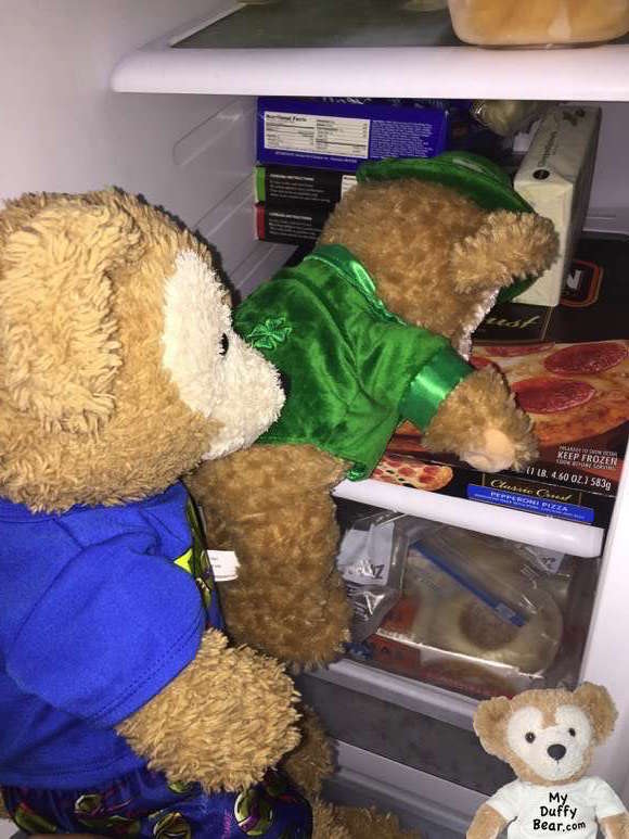 Duffy the Disney Bear captures a Leprechaun