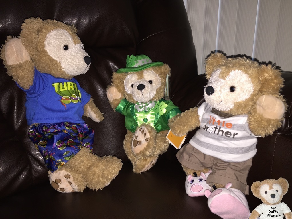 Duffy the Disney Bear dances and Irish Jig