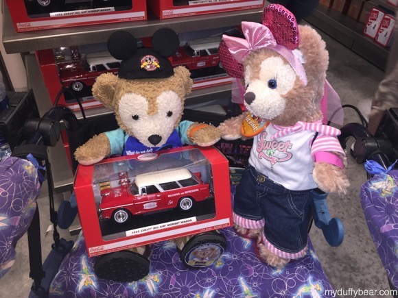 Duffy the Disney Bears wants to buy the 1955 Chevy Nomad BelAir Coca-Cola Wagon to play with
