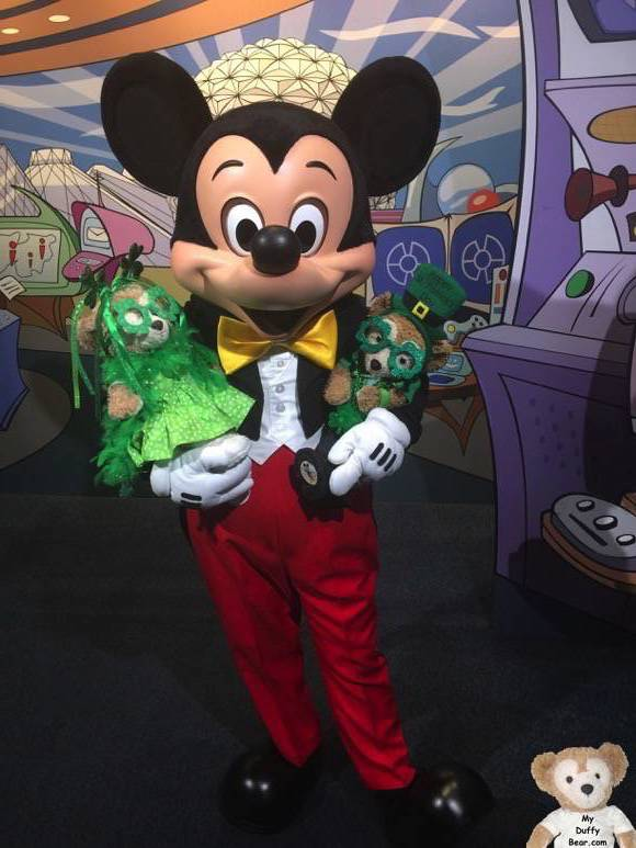 Duffy the Disney Bear meets and Greet with Mickey Mouse