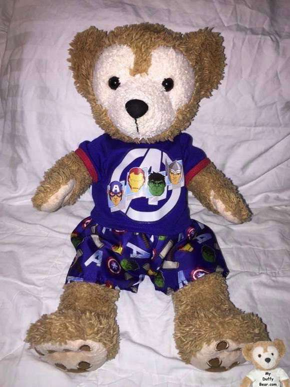Duffy the Disney Bear Avengers Pajamas