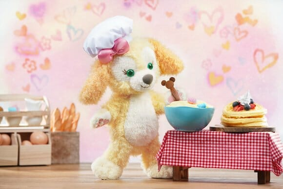 Cookie is Duffy the Disney Bear's new talented baking puppy from Hong Kong Disney Land!